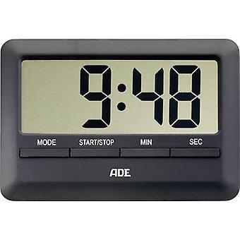 ADE TD 1601 temporizador negro Digital