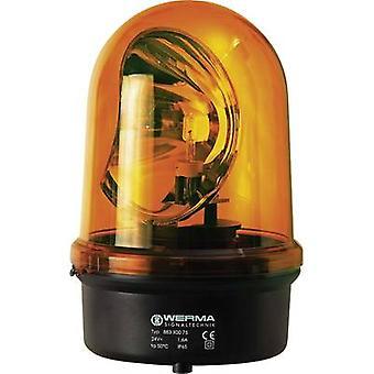 Werma Signaltechnik noodverlichting 883.300.75 geel nood licht 24 V AC, 24 V DC