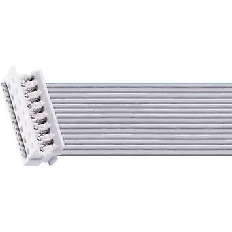 Lumberg MICA 10 Micro Modular Connector voor indirecte plug met vergrendeling in isolatie verplaatsing technologie aantal pinnen: 10