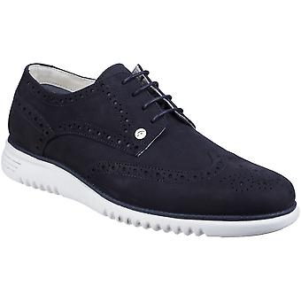 Gabicci Mens Verney Brogue cuir Lace Up chaussures occasionnelles