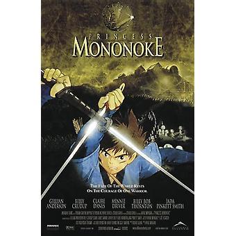 Cartel de la princesa Mononoke