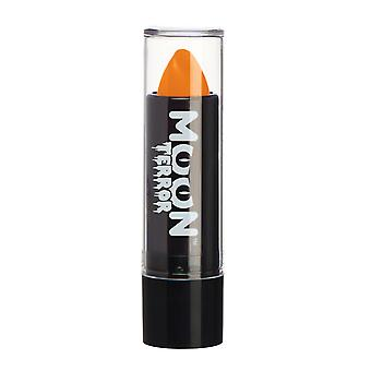 Moon Terror - Halloween Lipstick makeup - 5g - Easily create spooky designs like a pro! Perfect for vampire, ghost, skeleton, witch, pumpkin, monster etc - Pumpkin Orange