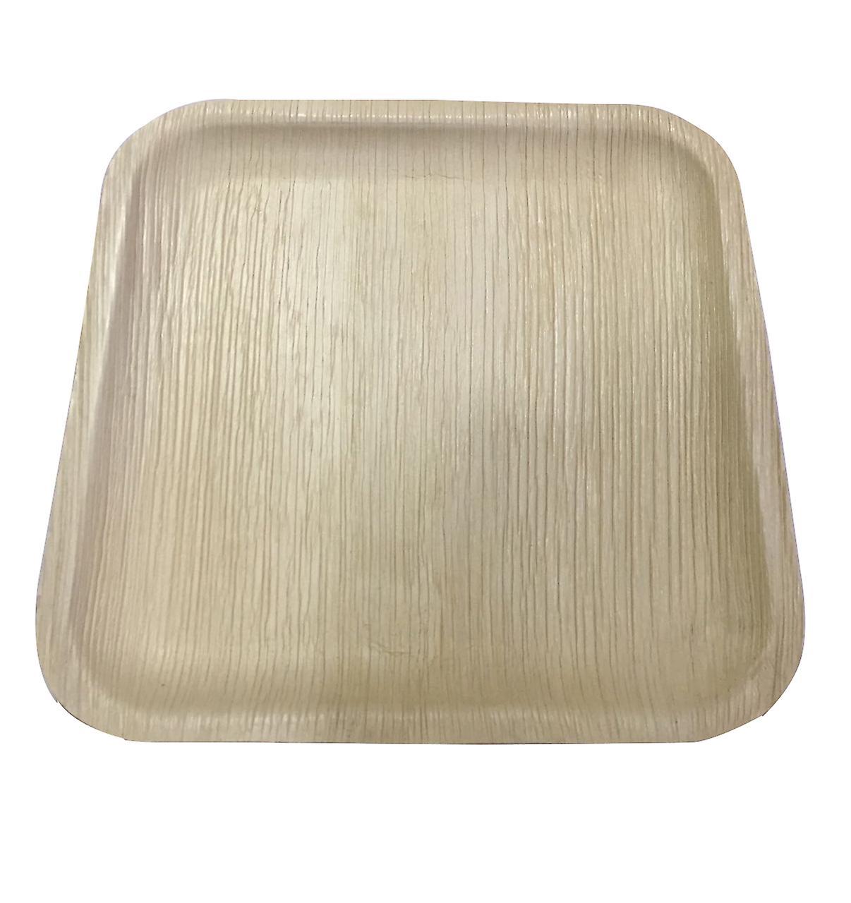 Öko-Partei Einweggeschirr - 25cm Quadratisch {25 Platten}