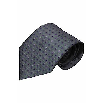 Graue Krawatte Alazio 01