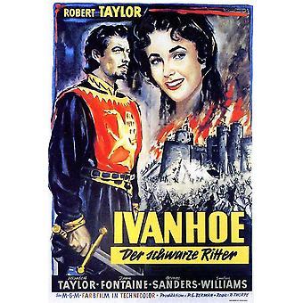 Locandina del film di Ivanhoe (11 x 17)