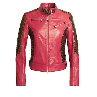 "JN Llovet leather jacket - ""Penelope"""