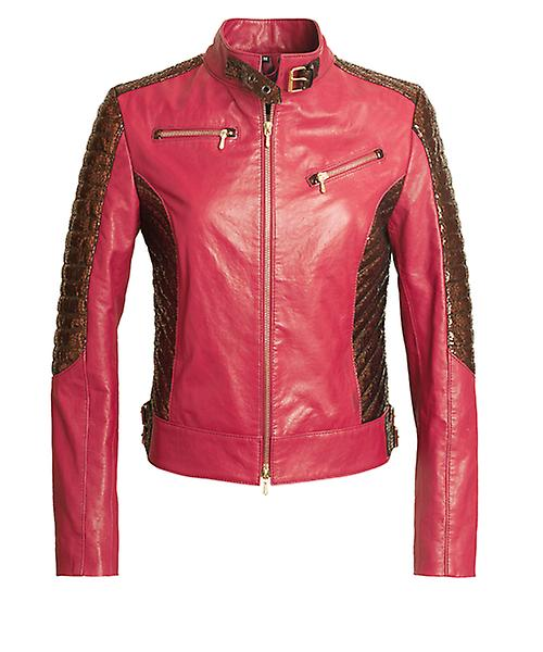 JN Llovet leather jacket -