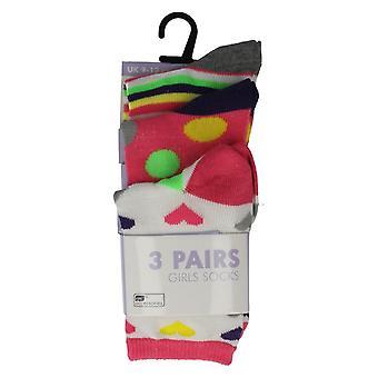 Girls Socks Pack of 3
