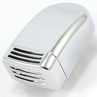 Chrome Coated Steam Outlet for Steam Room - Square with Curved Bottom Aromatherapy Basket