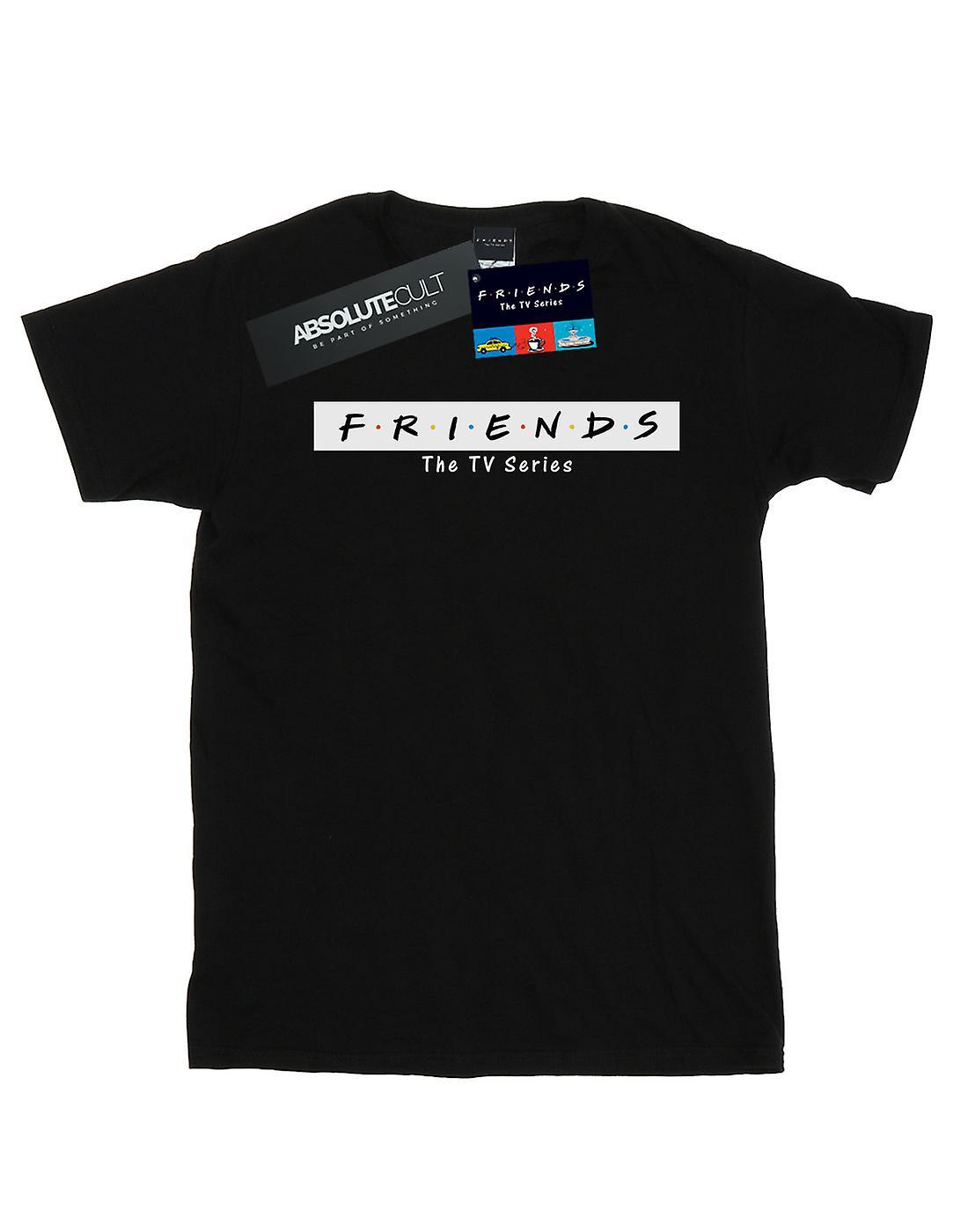 Friends Women's Logo Block Boyfriend Fit T-Shirt