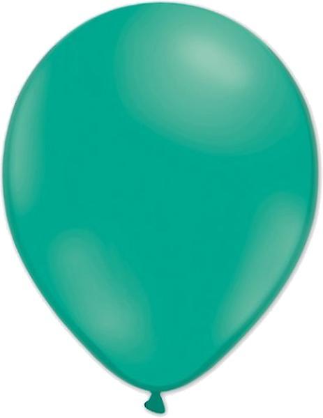 Ballonger 24-pack Smaragdgrön/Ivory/vit