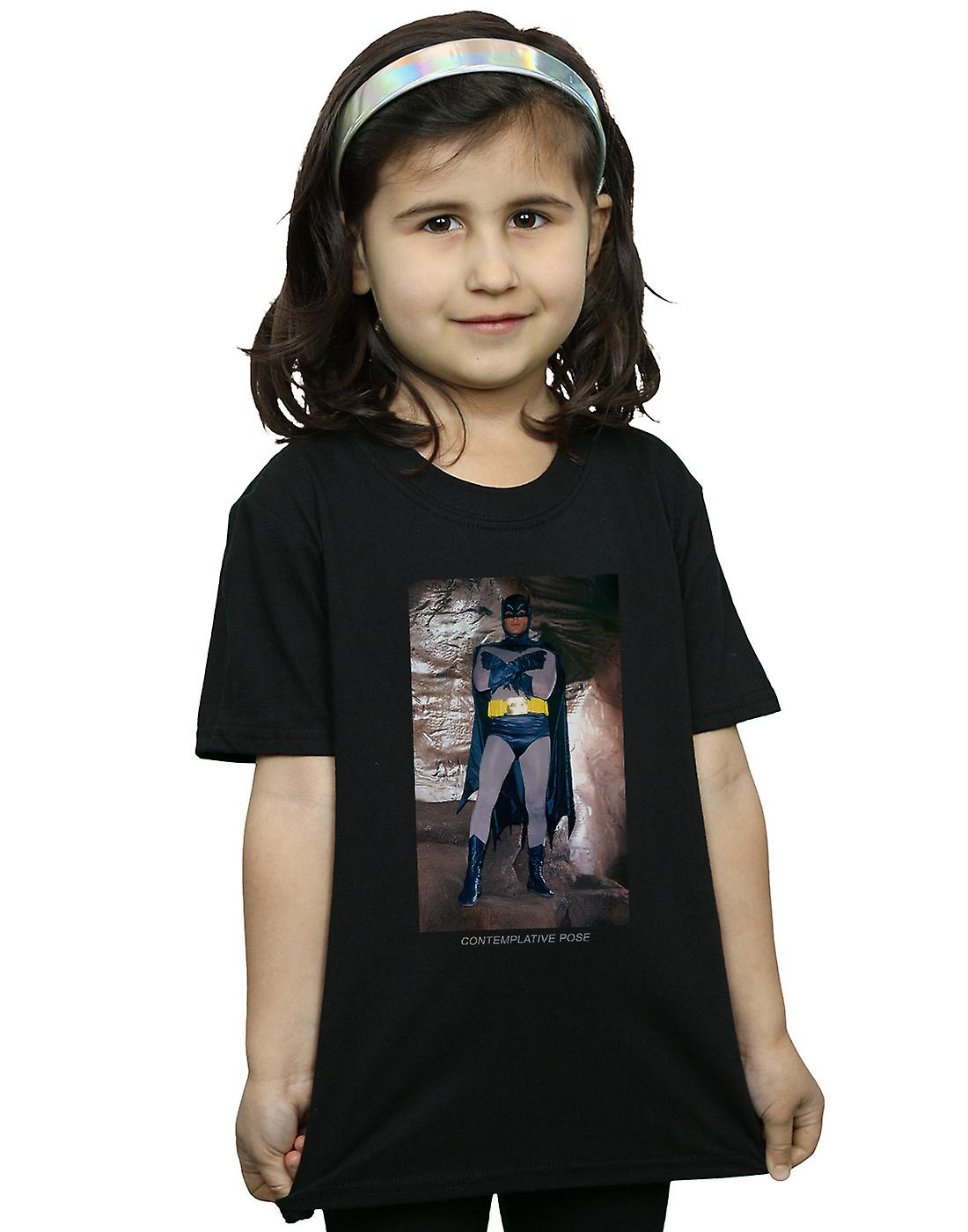 DC Comics Girls Batman TV Series Contemplative Pose T-Shirt