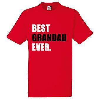 אדום סבא הטוב ביותר אי פעם אדום חולצת
