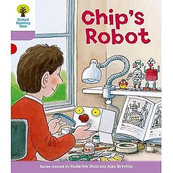 Oxford Reading Tree: Étape 1 +: plusieurs phrases tout d'abord Robot de la puce B: