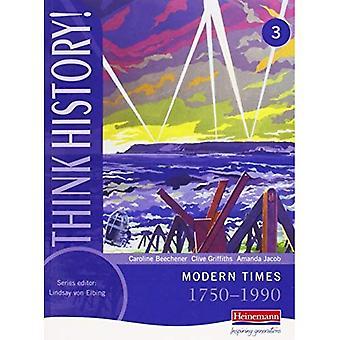 Penser l'histoire: Base élève livre 3 - les temps modernes, 1750-1990 (penser l'histoire)