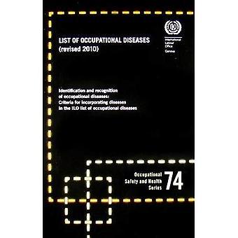 ILO lijst van beroepsziekten, herzien 2010: Occupational Safety and Health Series, nr. 74