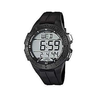 Calypso K5607/6, preto masculino, relógio de pulso,