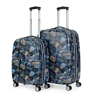 Set of 2 luggage Trolley travel youth Lois Saint Maurice 105 litres 130100