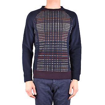 Paolo Pecora Ezbc059033 Men's Blue Acryl Sweatshirt