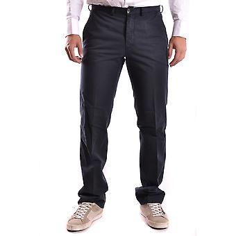 Ballantyne Ezbc099016 Men's Black Cotton Pants