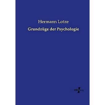 Grundzge der Psychologie de Lotze y Hermann