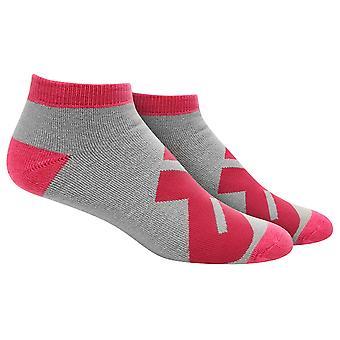 MusclePharm MP Low Cut Socks - Gray/Pink - gym fitness training