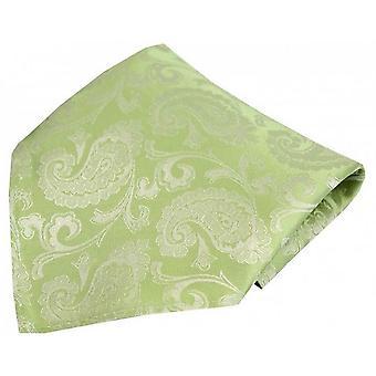 David Van Hagen Paisley Woven Silk mouchoir de poche - lilas