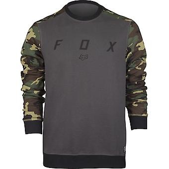 Fox Racing Mens Destrakt Crew Fleece Shirt - Charcoal/Camo