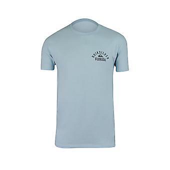 Quiksilver Herren Florida Garage T-Shirt-aquatischen blau