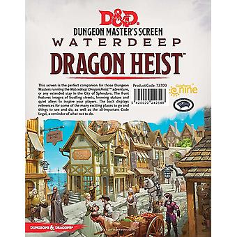 D & D Dungeon Master's Ekran Waterdeep Dragon Heist SCREEN