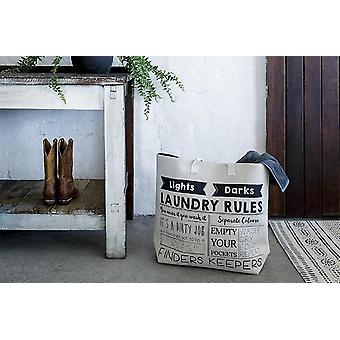 Bambury Laundry Rules Bag