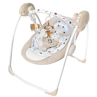 LaDiDa Baby bascule élégant et confortable Baby Electric Swing