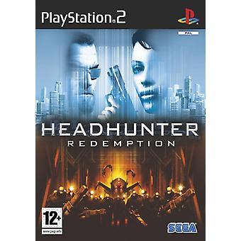Headhunter Redemption (PS2) - Ny fabrik förseglad