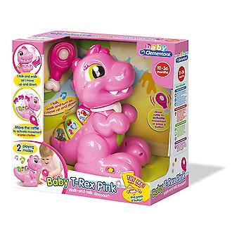 Baby Clementoni T-rex Pink Learning & Activity Toy