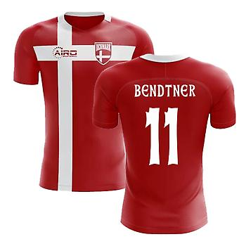 2020-2021 Danemark Drapeau Concept Football Shirt (Bendtner 11)