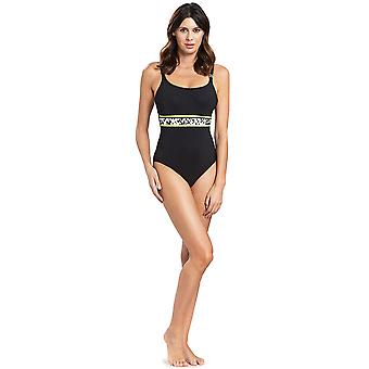 Féraud 3195315-10995 Women's Voyage Black Costume One Piece Swimsuit