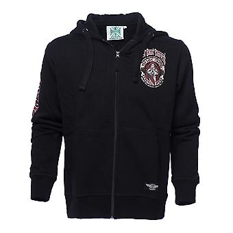 West Coast Choppers Men's Zip Hoodie Chapel