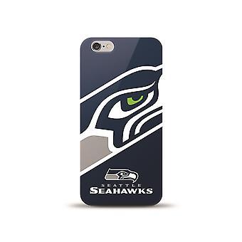 Mizco Sports NFL oversized SnapBack TPU Case voor iPhone 6/6S-Seattle Seahawks
