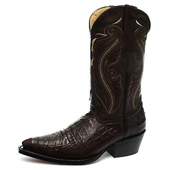 Grinders Indiana Brown Womens Western Cowboy Boots