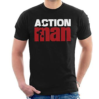 Action Man Logo Bullet Hole Men's T-Shirt