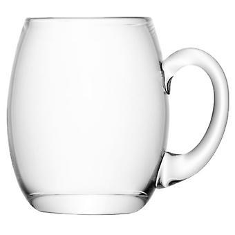 LSA Bar bier glas 500 Ml duidelijk (keuken, huishouden, kopjes en glazen)