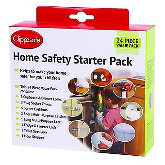 Clippasafe Set Safety Articles Home 24 Pieces (Babies and Children , Walk)