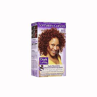 Softsheen Carson Dark & Lovely 376 Red Rhythm Color ( 2 Pack )