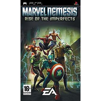 Marvel nemesis Rise av Imperfects (PSP)-nya