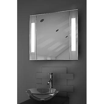 Gracieuze LED badkamer kast met Sensor & scheerapparaat k17