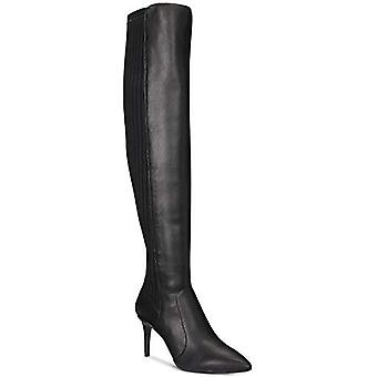 INC International Concepts I.N.C. Izetta Over-The-Knee Sock Boots Black Size ...