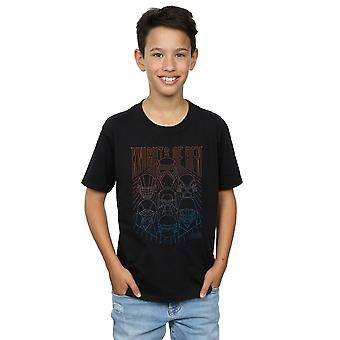 Star Wars The Rise Of Skywalker Knights Of Ren Colours Boys T-Shirt
