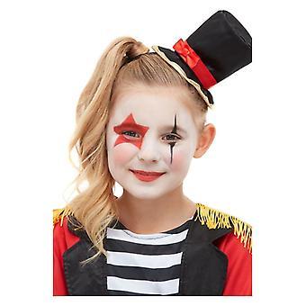 Barnens cirkus ringmaster make up kit