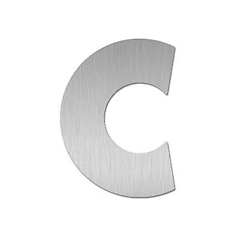 Nathan house number MIDI letter c stainless steel 64482-072