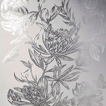 Crown Luxe Mayfair Kew Floral Wallpaper